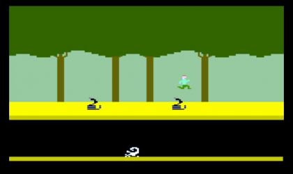 One Button Pitfall
