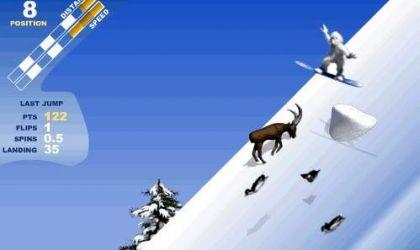 Yeti Sports 7:  Free Ride